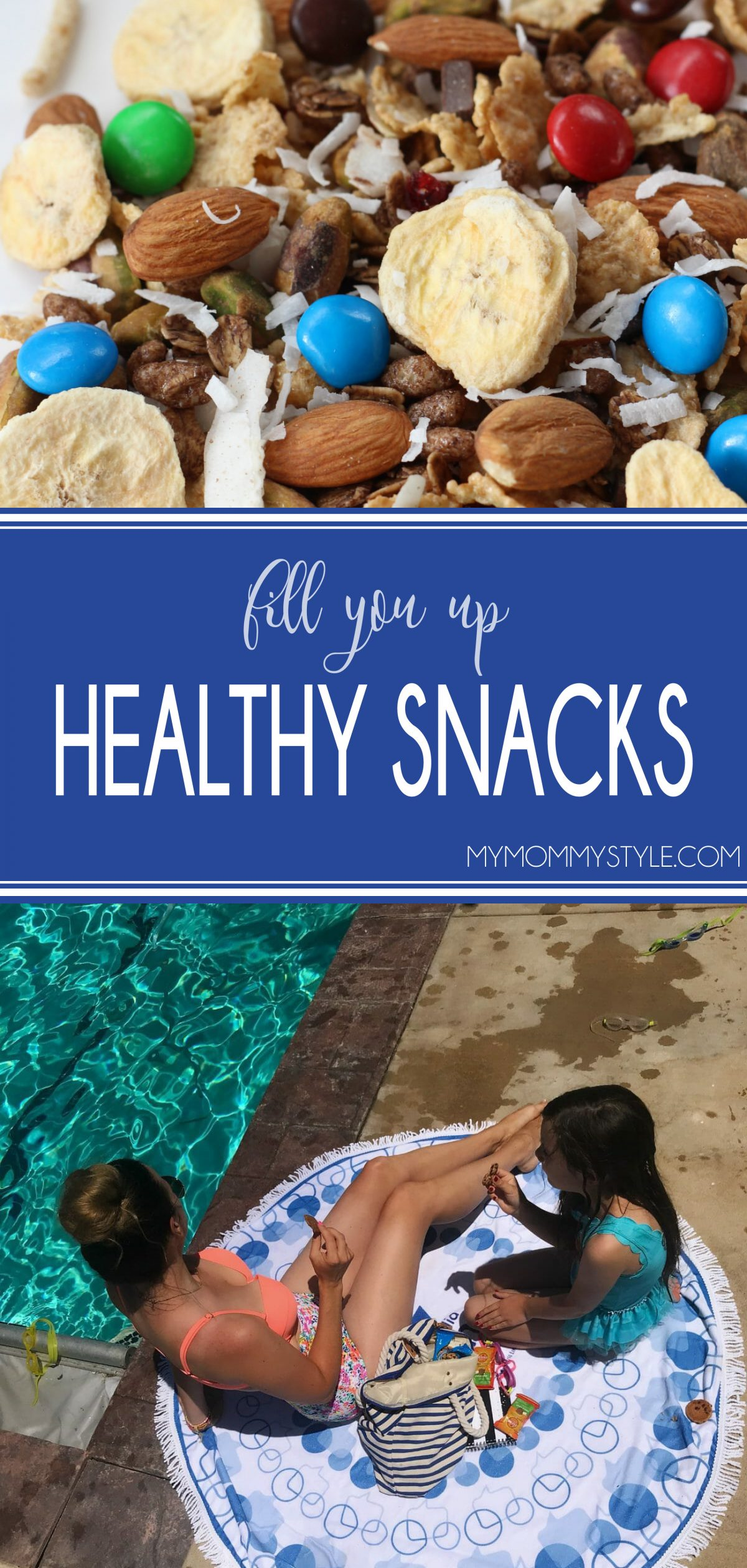 Healthy snacking doesn't need to be tricky. If you have ever found yourself snacking on something you wish you hadn't, it is most likely that you forgot to take the time to pack snacks for YOU! Here are snacks that will fill you up without making you feel heavy or the least bit of regret! via @mymommystyle