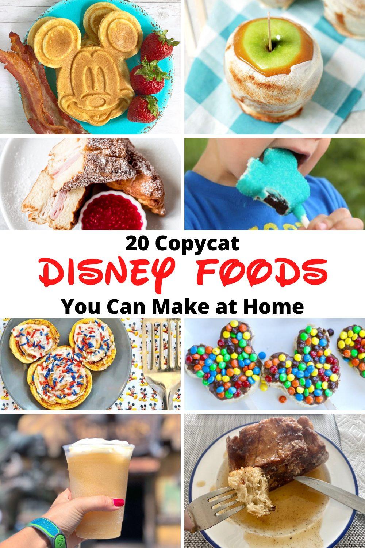 disney food recipes