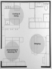 IKEA Small Space Floor Plans: 240, 380, 590 sq ft  My ...