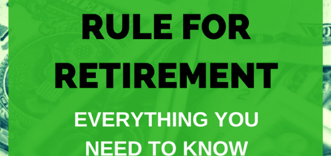The 4 Percent Rule For Retirement Withdrawals Everything