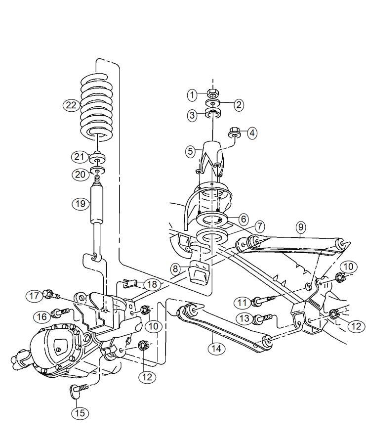 2015 Ram 4500 Shock absorber kit. Suspension. Front