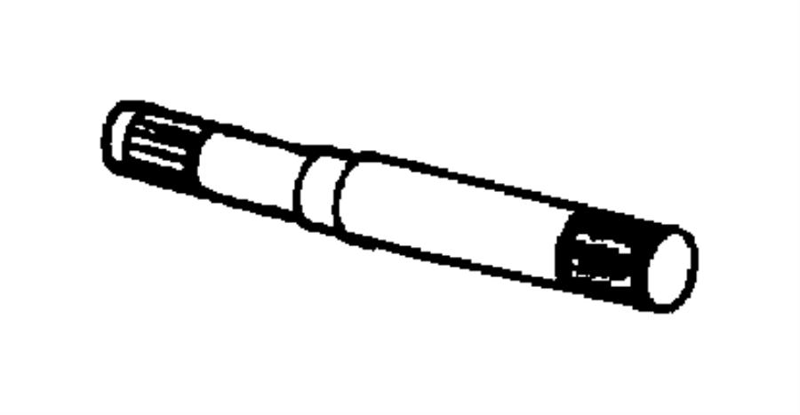 2001 Dodge Dakota Front Differential Diagram