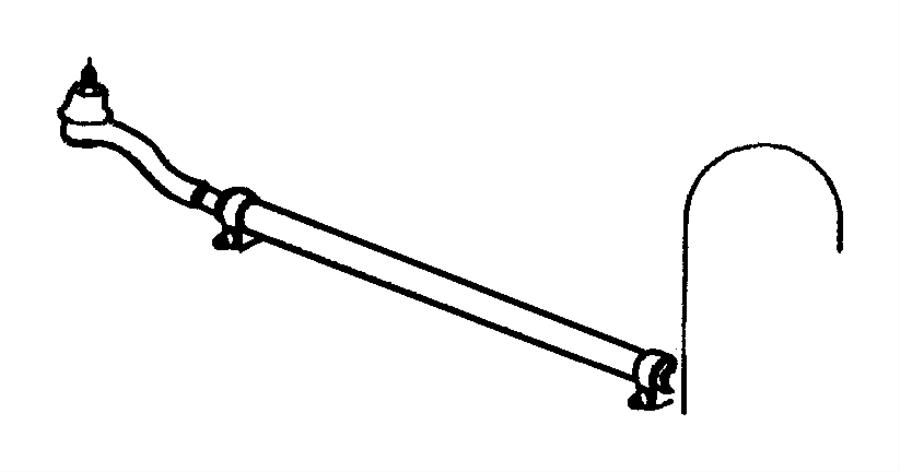 1999 Jeep Grand Cherokee Tie Rod Diagram