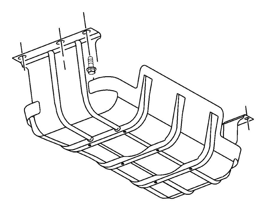 2007 Dodge Caliber Motor Mount Diagram