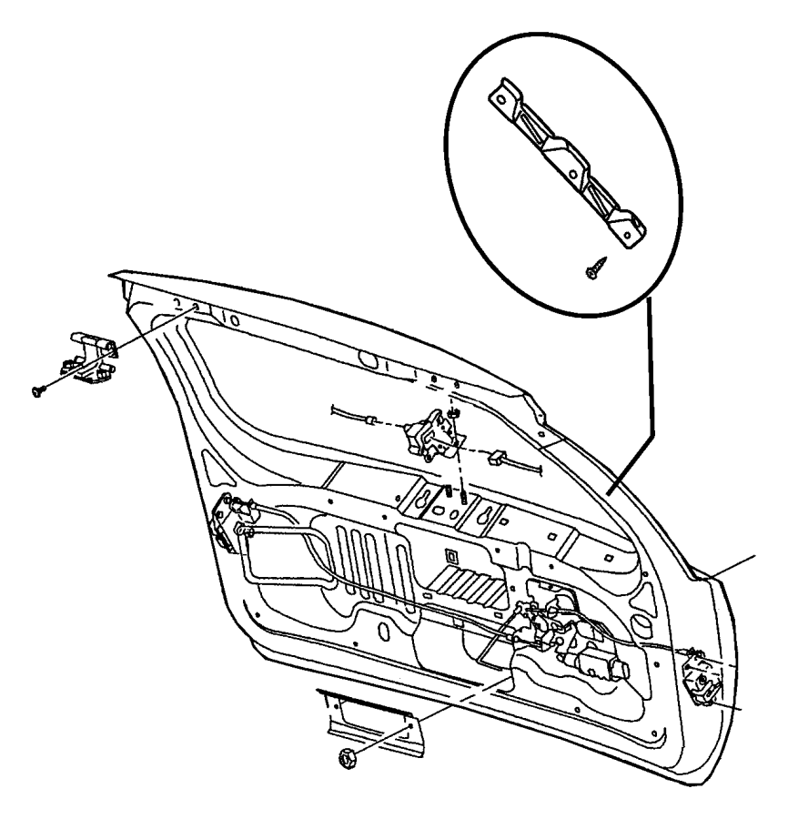 1999 Jeep Cherokee Liftgate Parts Diagram. Jeep. Auto