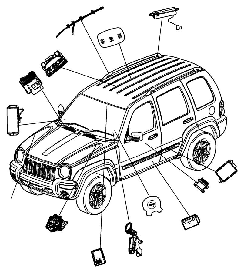 Immobilizer Module Jeep