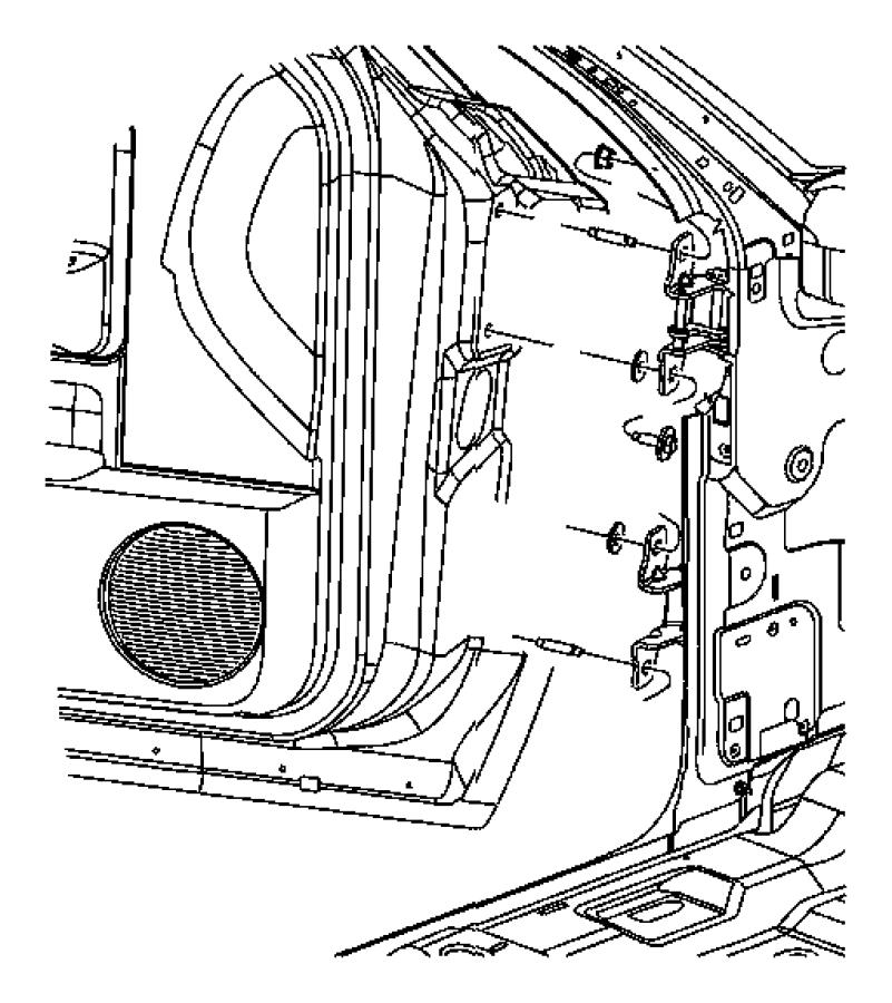 Westinghouse Fuse Box Door Hinge
