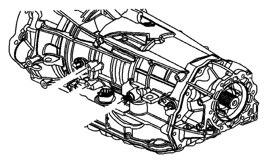 2009 Jeep Commander Lever. Manual control. Shift lever