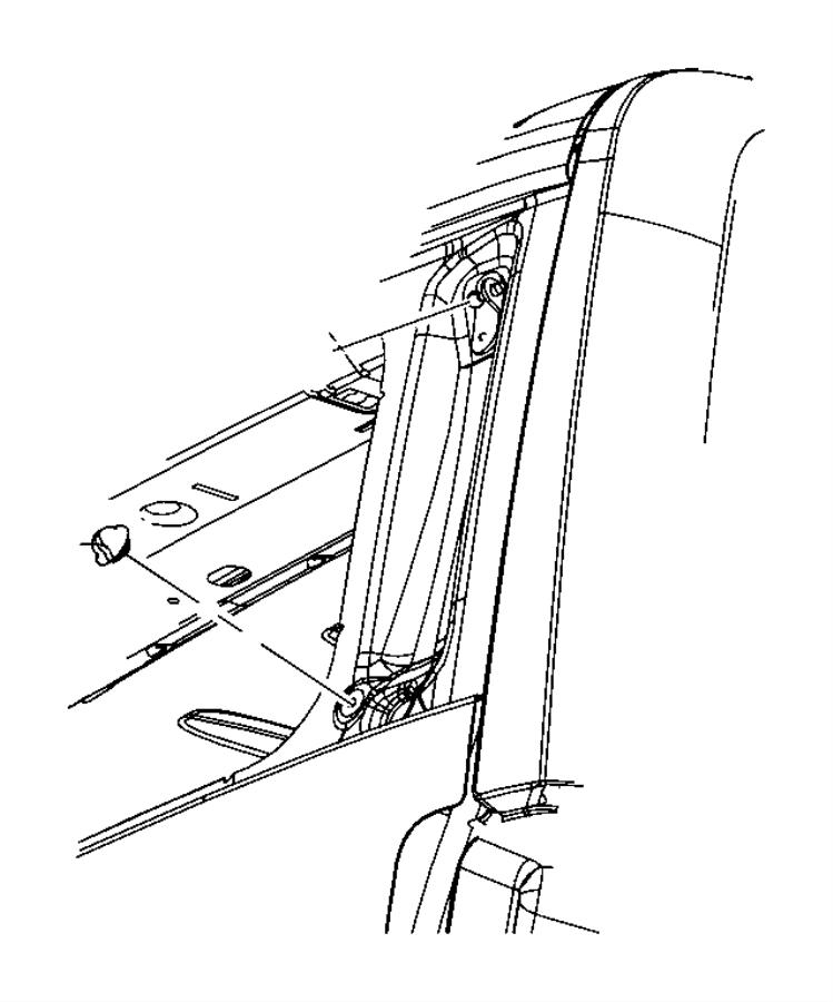 2009 Jeep Liberty Lift gate glass bumper. Round, Body