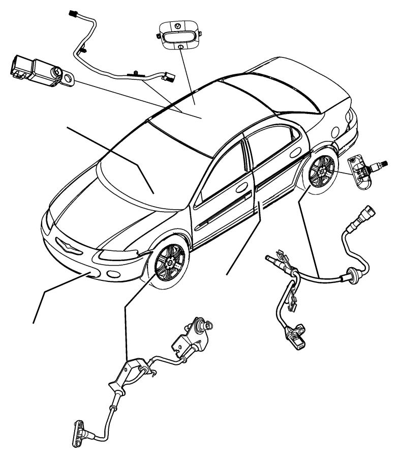 Speed Sensor Harness 2014 Escape