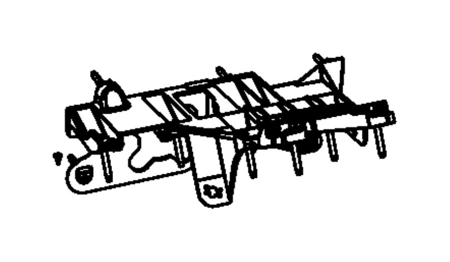 2011 Dodge Nitro Steering Column Diagram