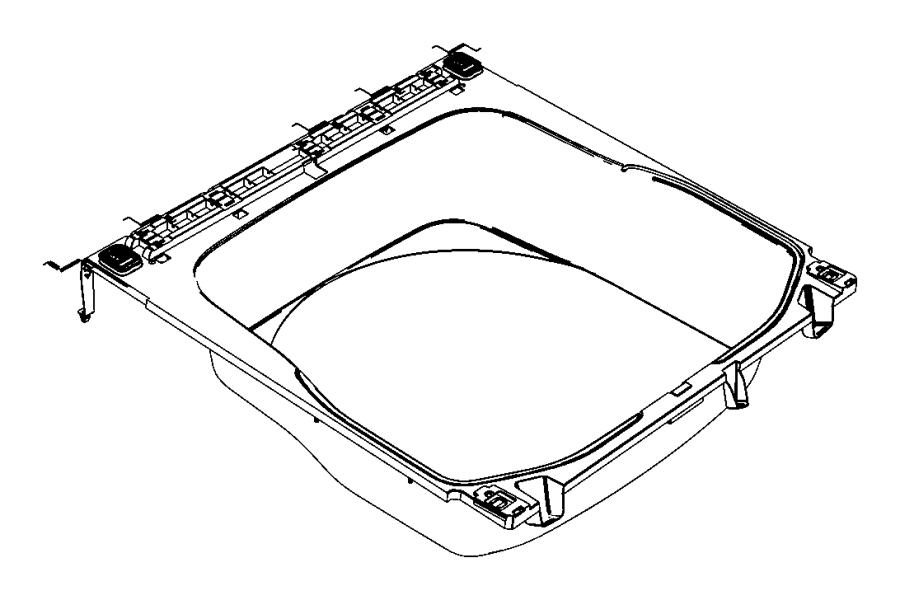 2014 Jeep Grand Cherokee Bin. Trunk Floor Storage Box