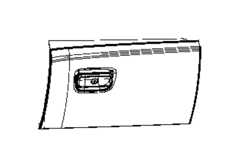 2014 Jeep Grand Cherokee Glove Box Storage Compartment
