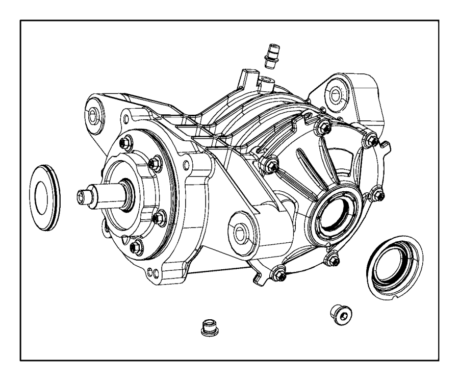 2017 Dodge Journey Carrier. Differential. Difrntal assy