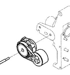 2015 ram 2500 belt belt tensioner pulley serpentine 2015 dodge ram 2500 belt diagram 2015 dodge ram 2500 serpentine belt diagram [ 1095 x 900 Pixel ]