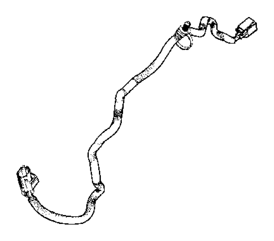 2017 Jeep Wrangler Headlight Wiring Harness Connector