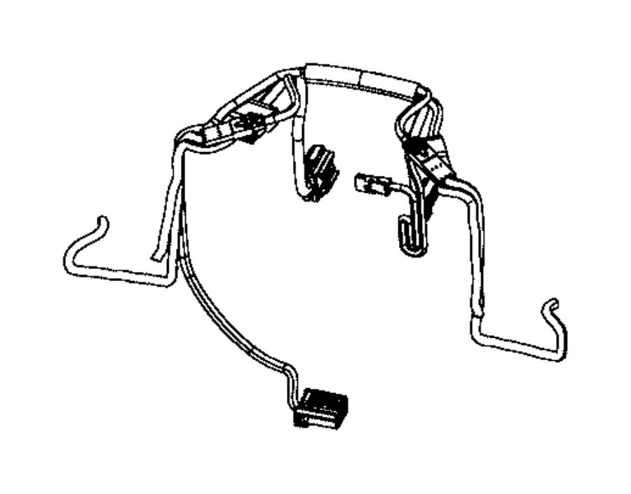 2014 Dodge Durango Steering Wheel Wiring Harness. Wire