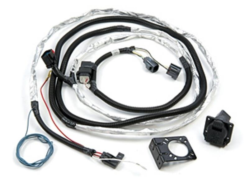 2010 Jeep Wrangler Complete Harness, 7-way round trailer