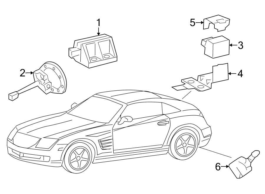 Chrysler Crossfire Oem Parts Diagrams. Chrysler. Auto