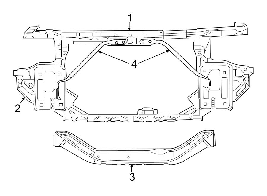 2011 Chrysler 200 Fender Parts Diagram. Chrysler. Auto