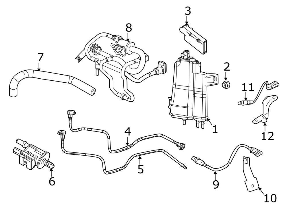 2010 Jeep Wrangler Evaporative Emissions System Leak