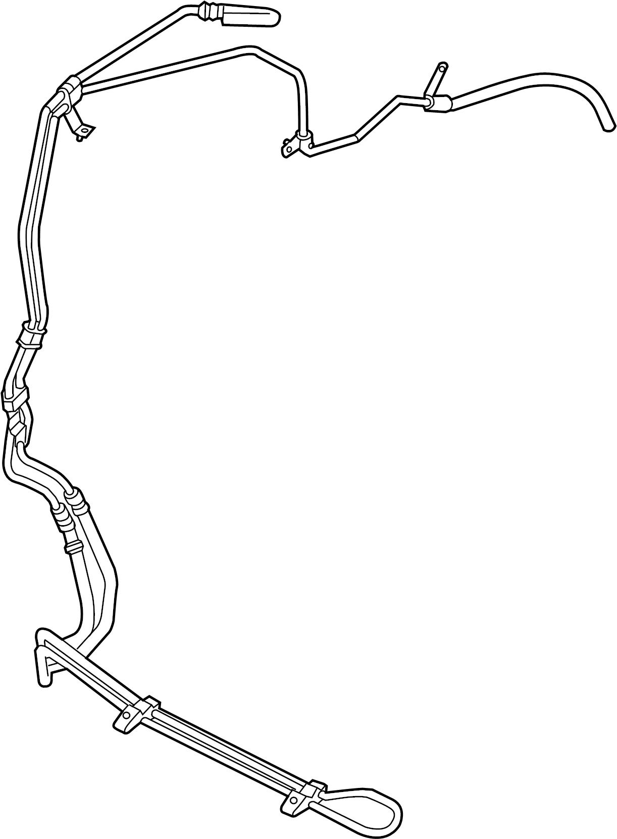 Dodge Avenger Power Steering Hose Diagram