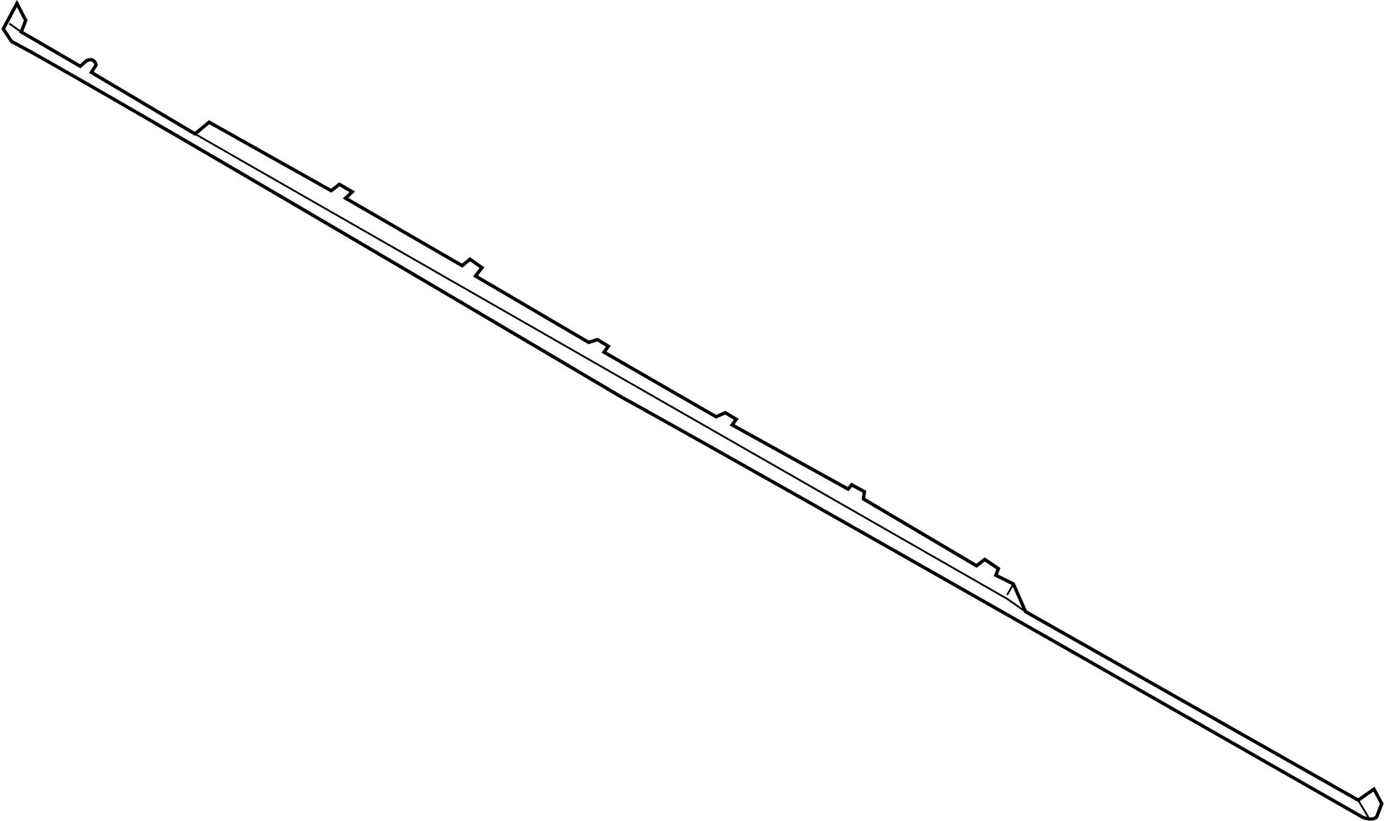 2010 Dodge Challenger Front Bumper Diagram