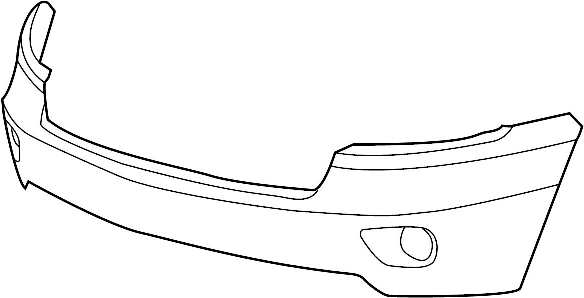 2011 Jeep Grand Cherokee Front Bumper Diagram