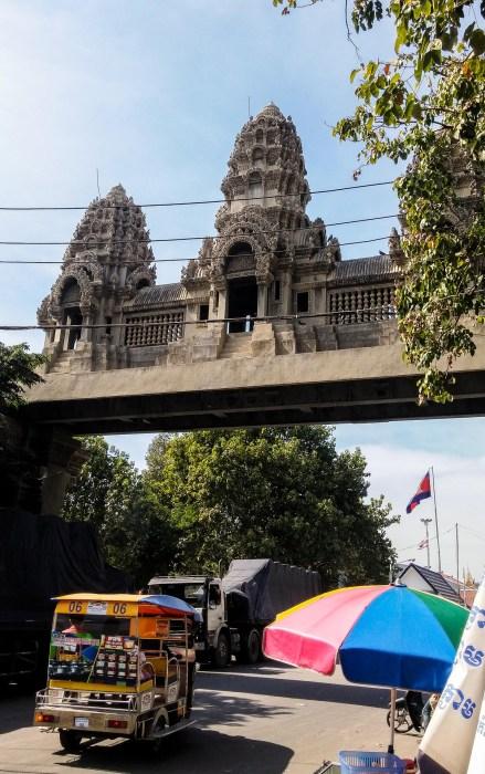 Arrivare in Cambogia