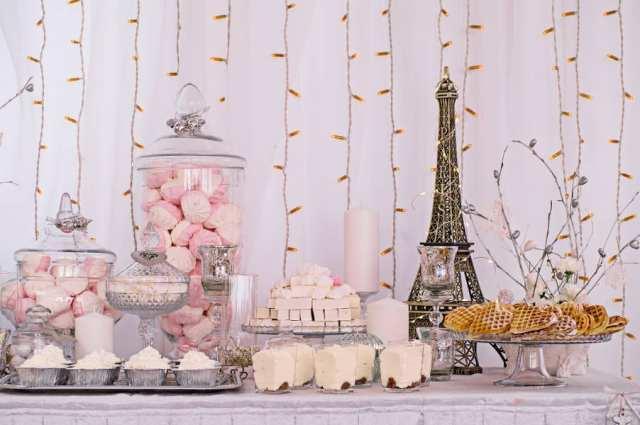 Paris düğün dekoru