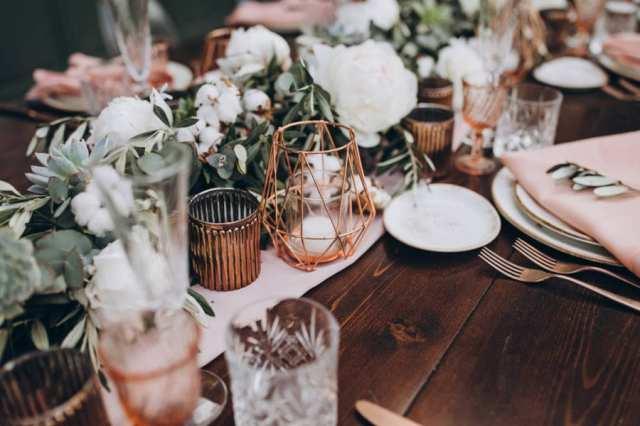 düğün masa dekoru