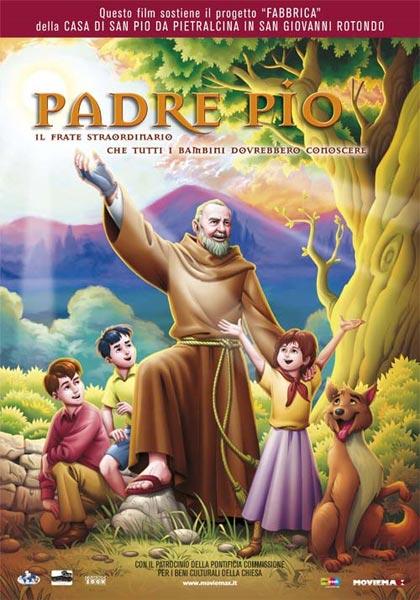 Cartone animato Padre Pio