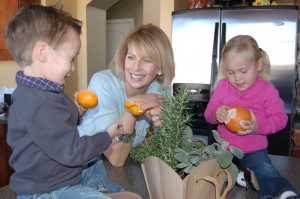 Oranges with Mel