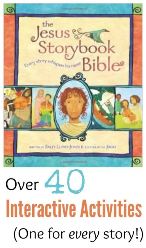 Jesus Storybook Bible Pin Plain