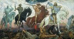 Vasnetsov ~ The Four Horsemen of the Apocalypse.