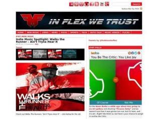 Client featured on InFlexWeTrust.com
