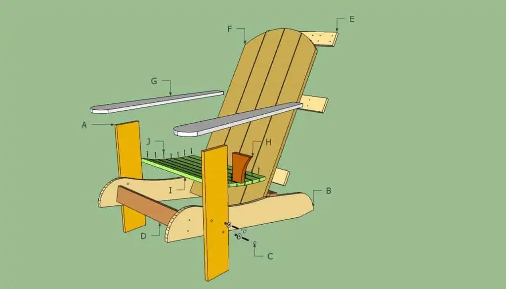adirondack chair plan office high 38 stunning diy plans free mymydiy inspiring the howtospecialist
