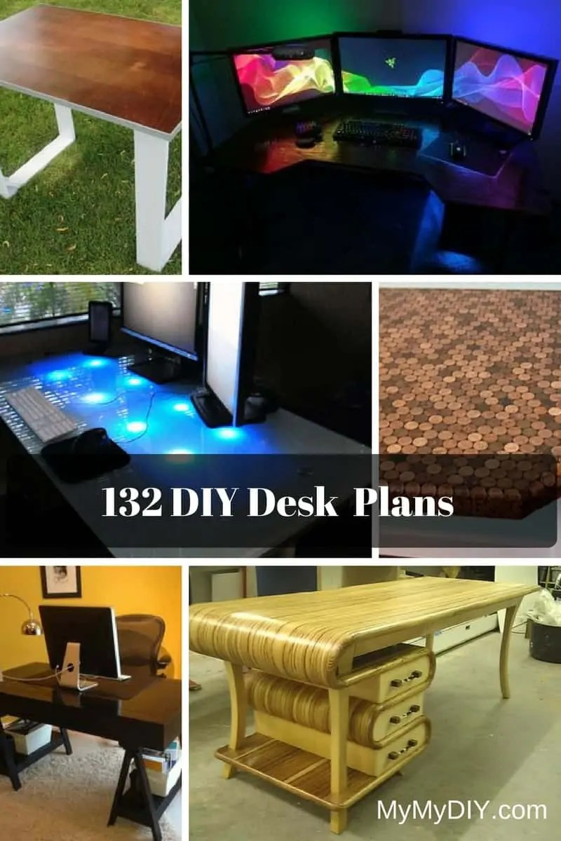 medium resolution of 132 diy desk plans you ll love