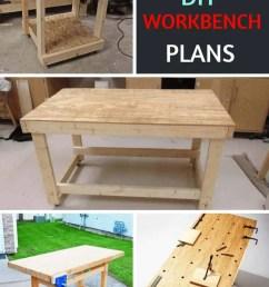 27 sturdy diy workbench plans ultimate list  [ 800 x 1200 Pixel ]