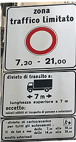 zone trafic limité