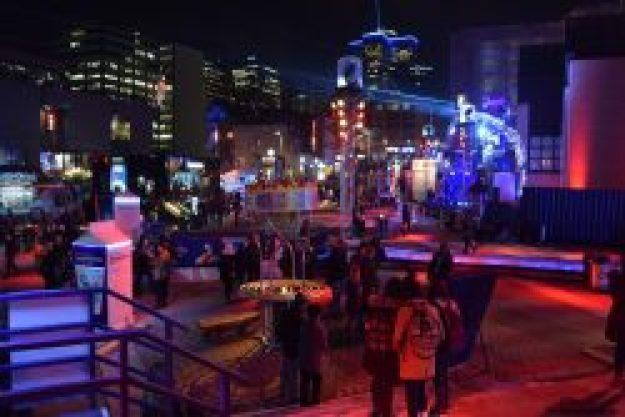 Montréal fête des lumières