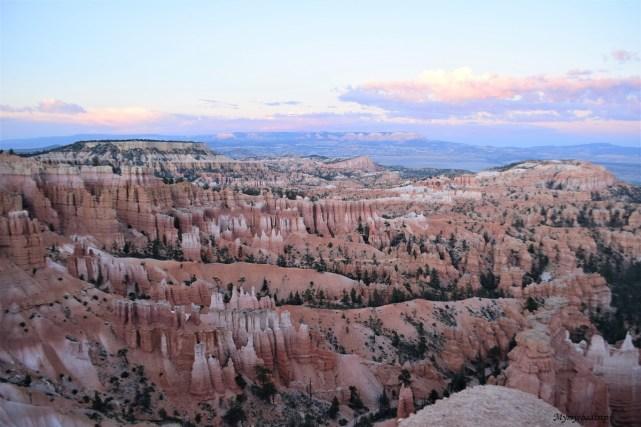 bryce canyon coucher de soleil