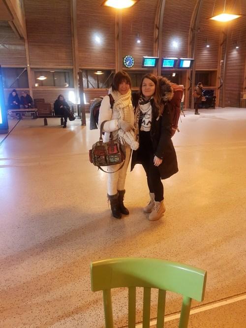 Voyage avec sa maman