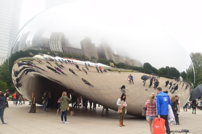 the cloud millenum park chicago