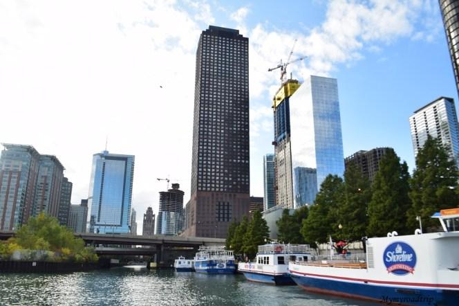 croisiere architecture river chicago