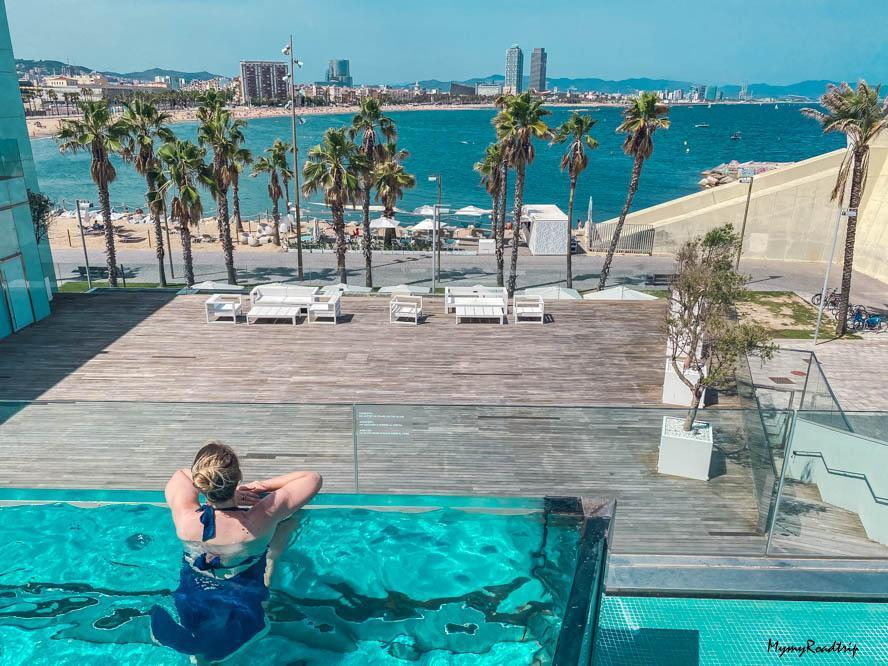 piscine hotel w barcelona