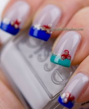 nail art - funky french