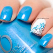nail art lacy accent