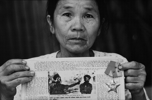 Nguyen Thi Lop, weduwe van Nguyen Van Lem