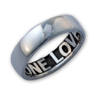 Engraved Promise Ring for Men or Women | MyNameNecklace